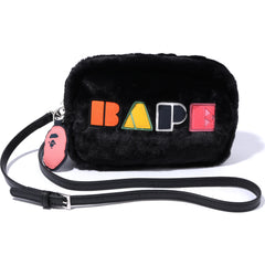 BAPE APPLIQUE BOA SHOULDER BAG LADIES