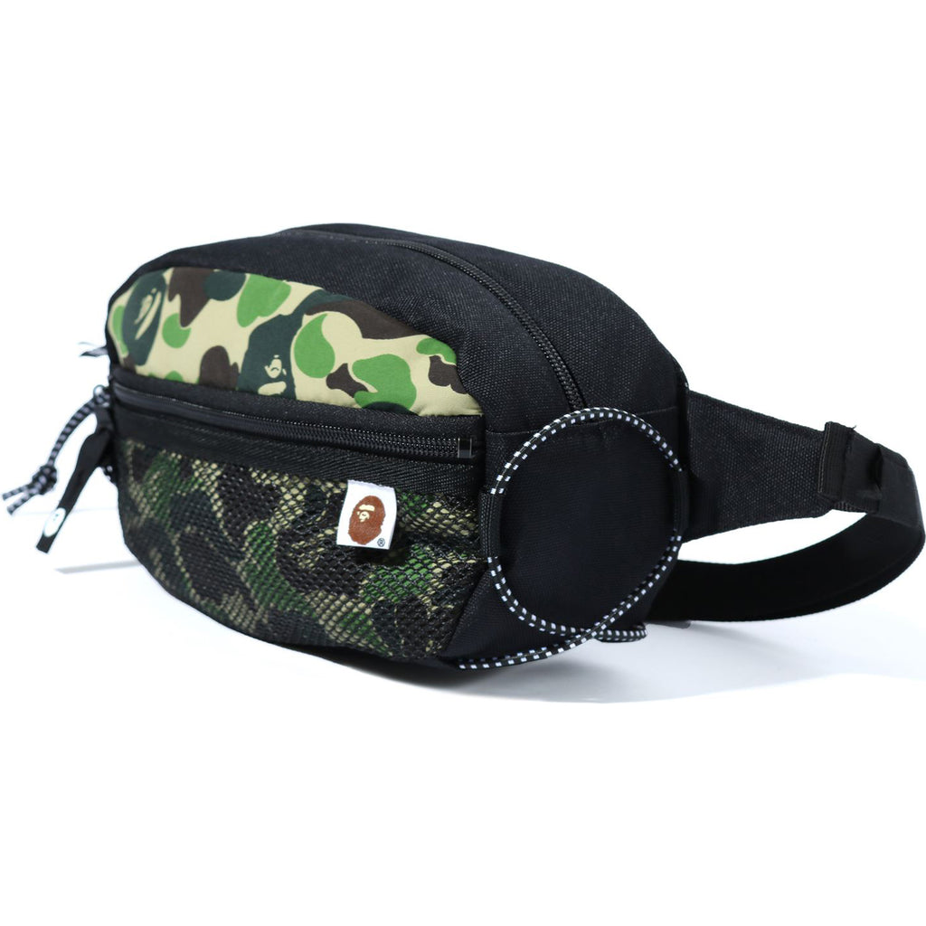 ABC CAMO BUNGEE CORD WAIST BAG MENS