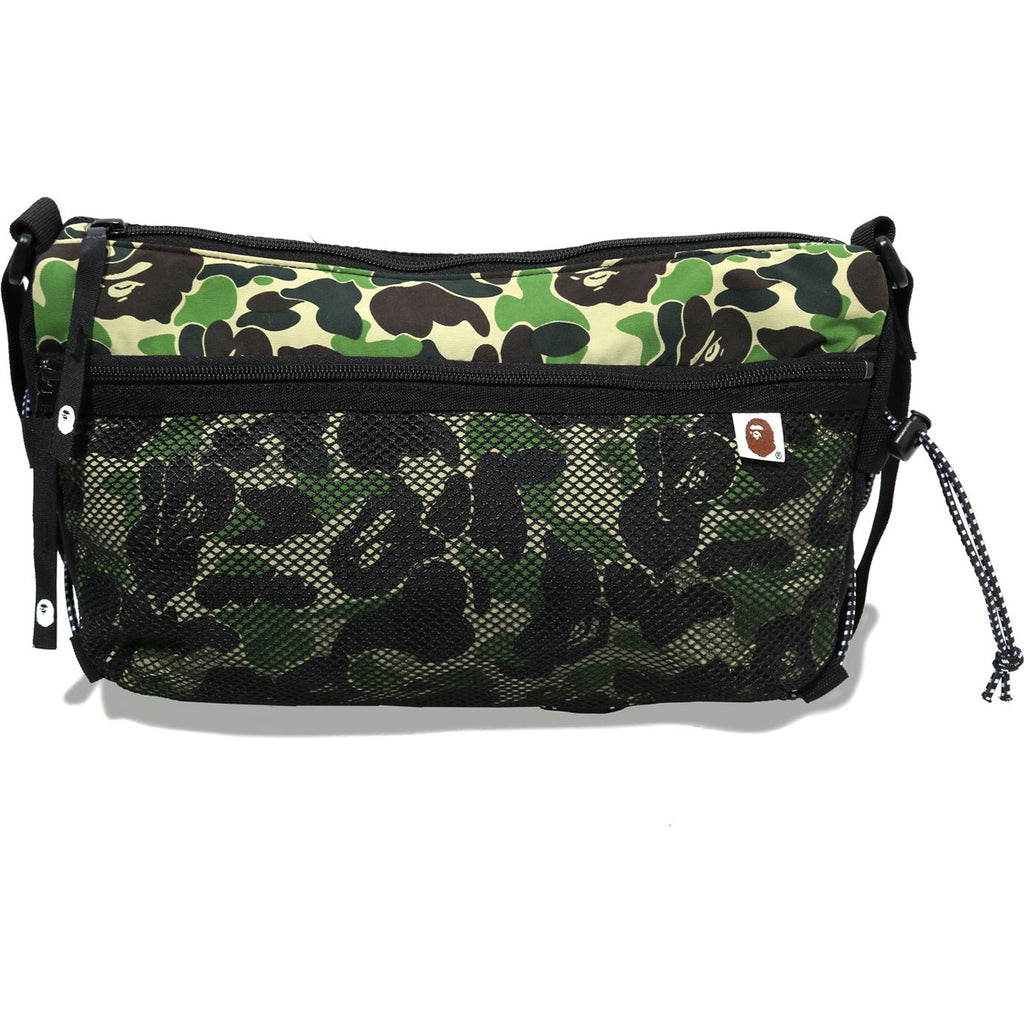 ABC CAMO BUNGEE CORD SHOULDER BAG MENS
