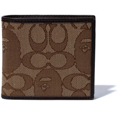 BAPE X COACH COIN WALLET MENS