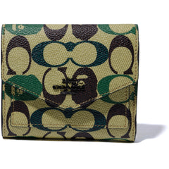 BAPE X COACH FLAP WALLET LADIES