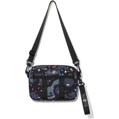 SPACE CAMO SHOULDER BAG MENS
