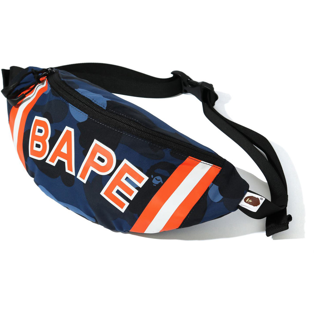 COLOR CAMO WAIST BAG MENS