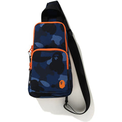 COLOR CAMO APE HEAD ONE SHOULDER BAG KIDS
