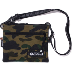 BAPE X OUTDOOR PRODUCTS 1ST CAMO MINI SHOULDER BAG