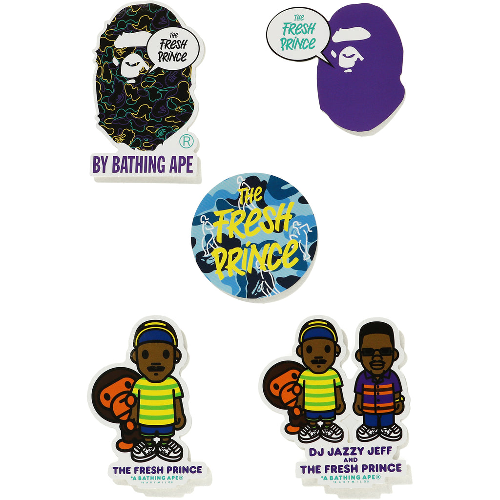 THE FRESH PRINCE STICKER SET MENS