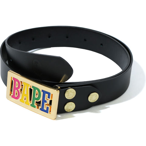 BAPE LOGO BELT LADIES