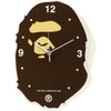 APE HEAD WALL CLOCK MENS