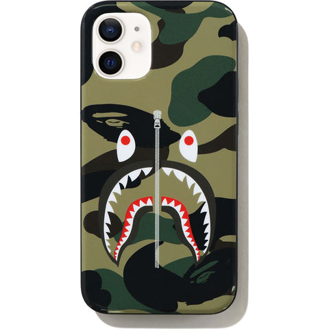 1ST CAMO SHARK IPHONE 12 MINI CASE