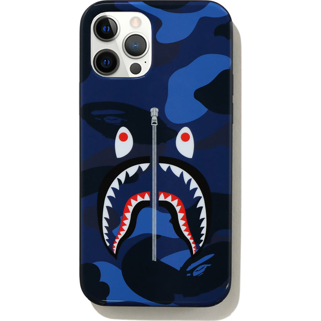COLOR CAMO SHARK IPHONE 12 / 12 PRO CASE