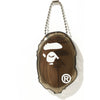 APE HEAD CLEAR COIN CASE MENS