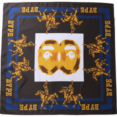 DOUBLE APE HEAD SCARF MENS