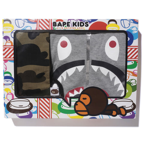 1ST CAMO SHARK KIDS GIFT SET /K