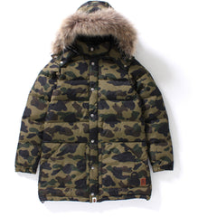 1ST CAMO LONG DOWN JACKET LADIES