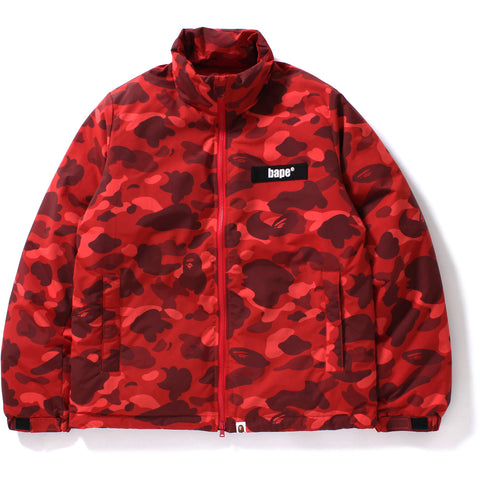 COLOR CAMO DOWN JACKET M