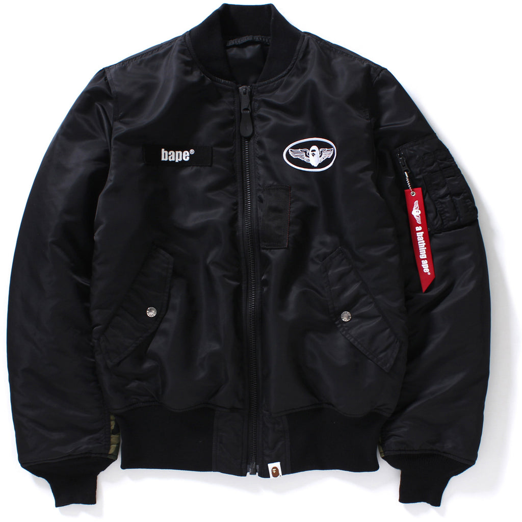 Nike jacket army - New Sold Out 1st Camo Alpha Ma 1 Mens