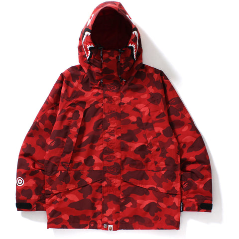 COLOR CAMO SHARK SNOWBOARD JACKET MENS