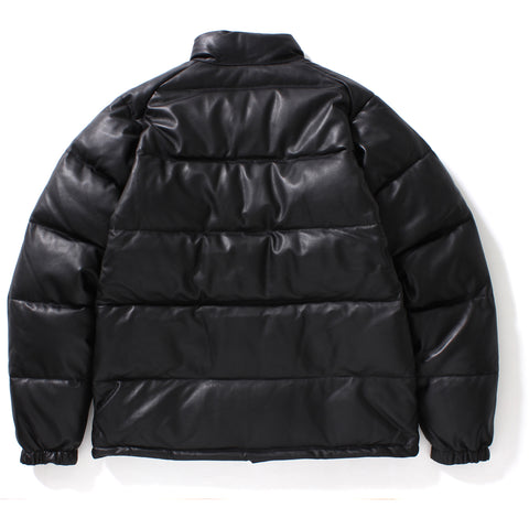 LEATHER CLASSIC DOWN JACKET MENS