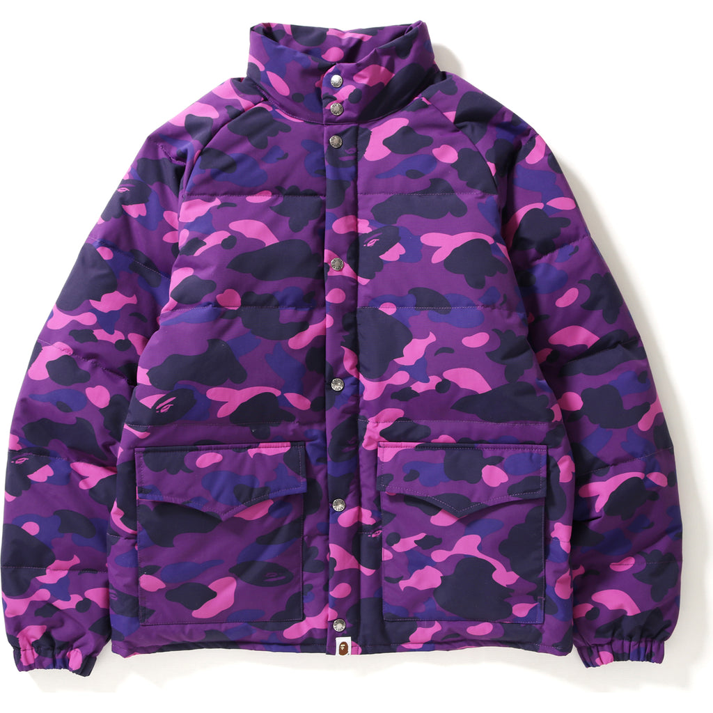 COLOR CAMO CLASSIC DOWN JACKET