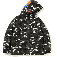 CITY CAMO SHARK SNOWBOARD DOWN JACKET MENS