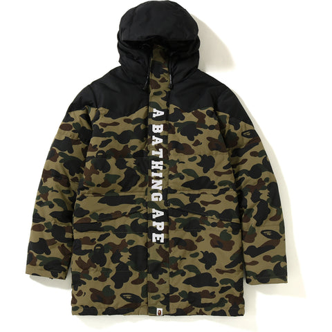 1ST CAMO LONG DOWN SNOWBOARD JACKET MENS