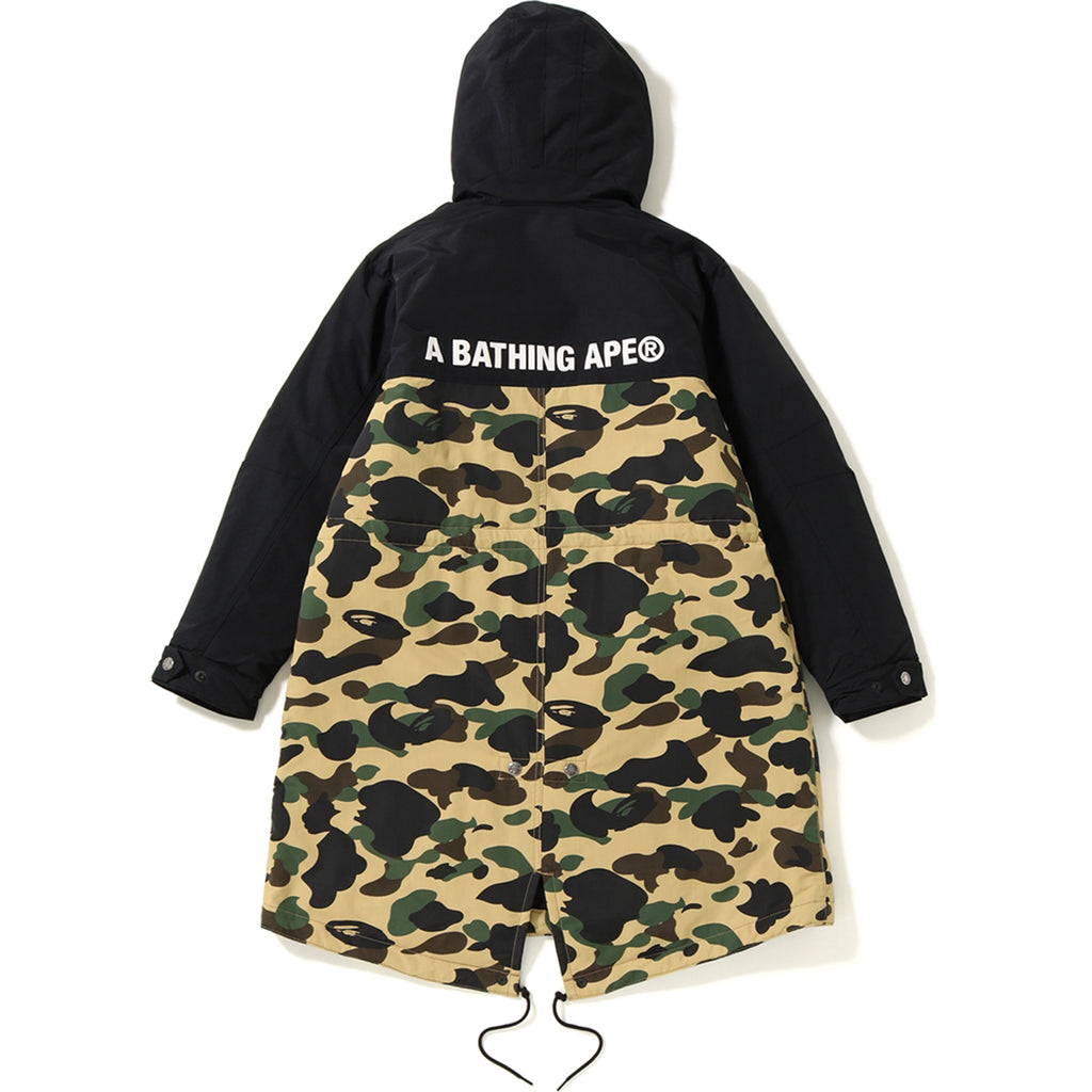 1ST CAMO FUR MODS COAT LADIES