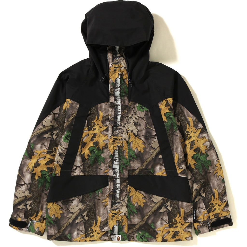 909a32b23 BAPE FOREST CAMO SNOW BOARD JACKET MENS