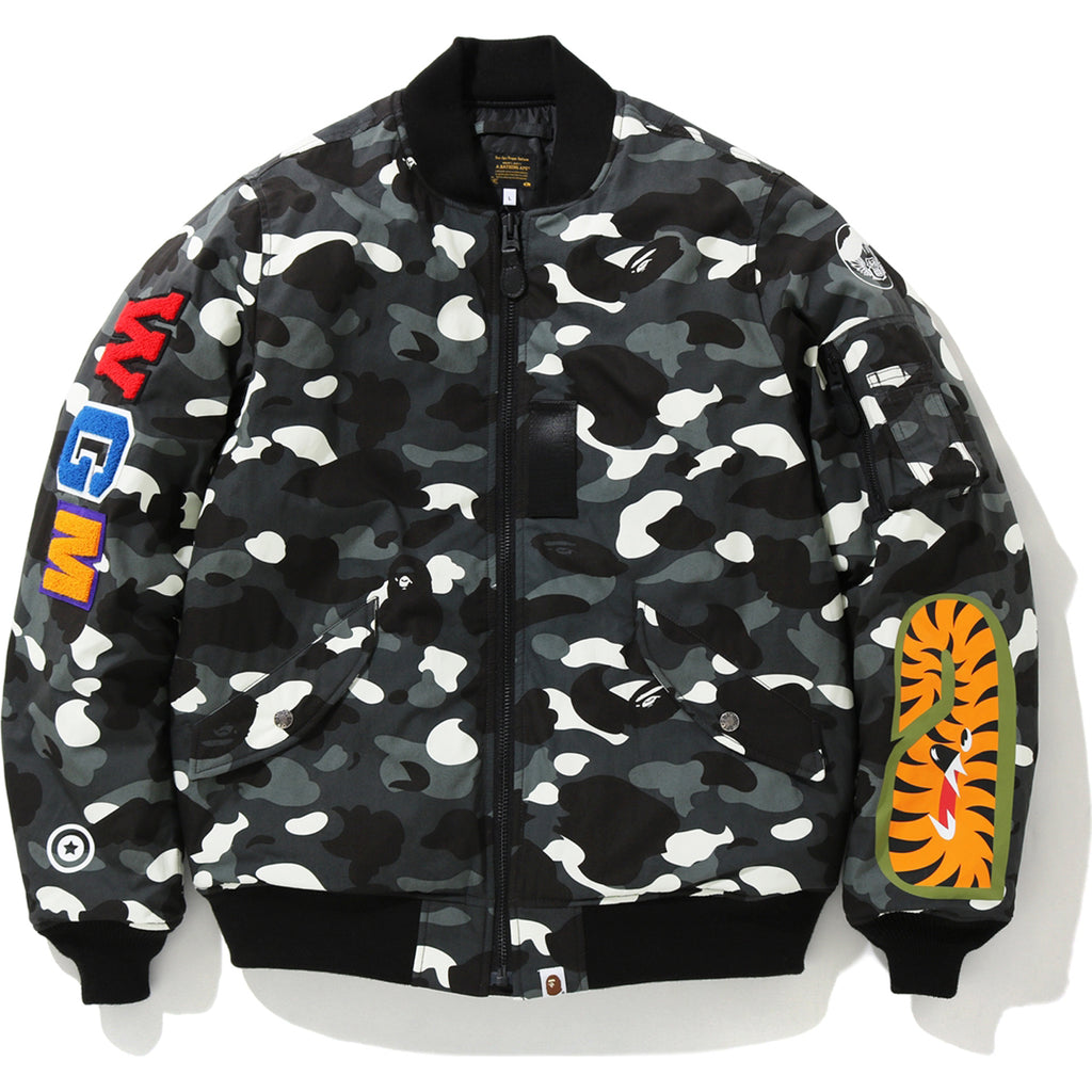 CITY CAMO SHARK MA-1 MENS