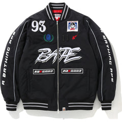 MOTOR SPORT BOMBER DOWN JACKET MENS