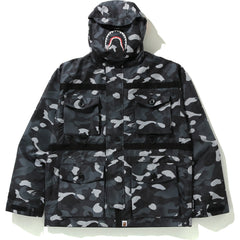 GRADATION CAMO SHARK MASK JACKET MENS