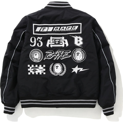 MOTOR SPORT BOMBER DOWN JACKET LADIES