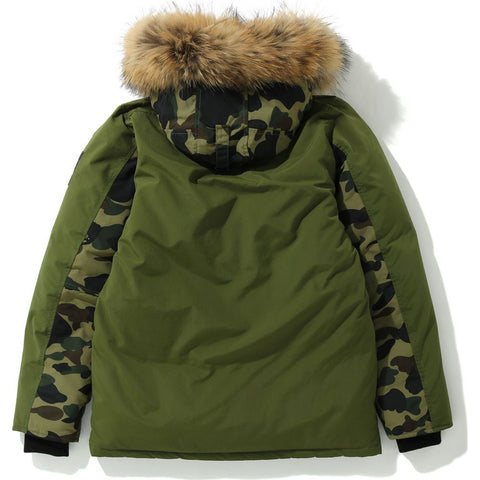 FUR DOWN HOODIE JACKET LADIES
