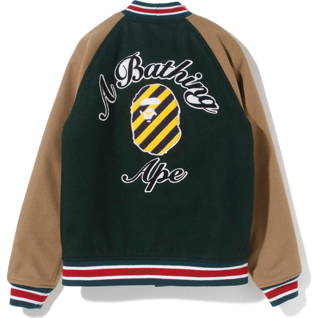 STRIPE COLLEGE VARSITY JACKET LADIES