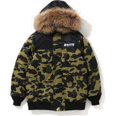 1ST CAMO OVERSIZED HOODIE DOWN JACKET LADIES