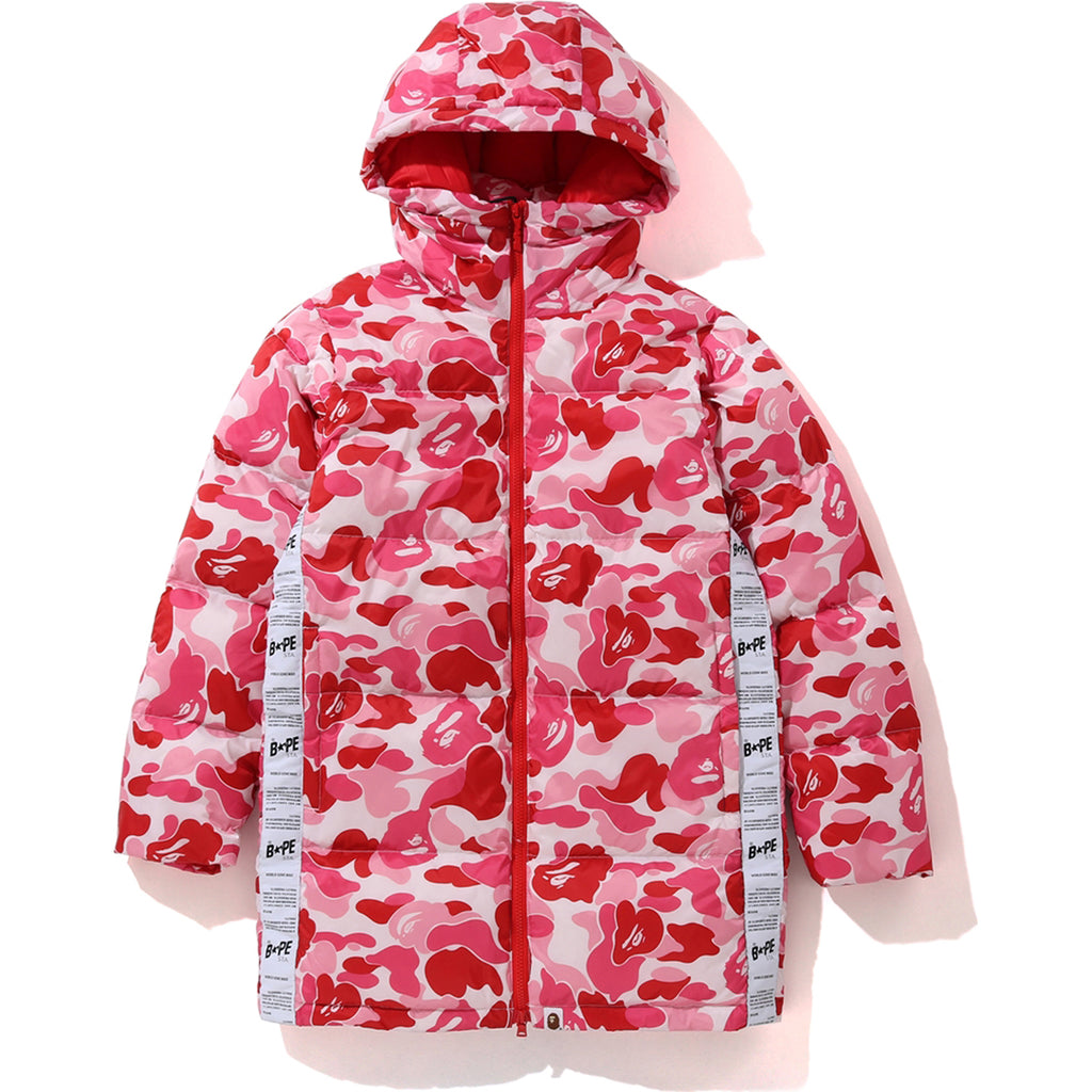 ABC LONG HOODIE DOWN JACKET LADIES
