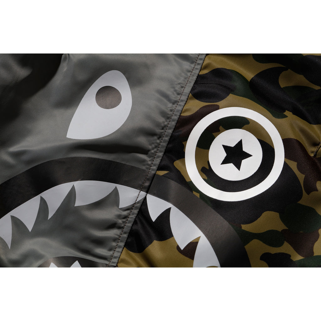 BAPE X ALPHA SHARK MA-1 MENS