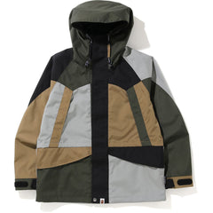 COLOR BLOCK CORDURA SNOWBOARD JACKET MENS