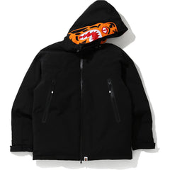 TIGER HOODIE DOWN JACKET MENS