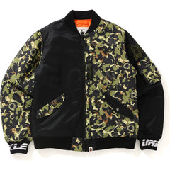 MO'WAX UNKLE X BAPE CAMO MA-1 JACKET MENS