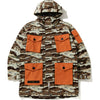 DESERT CAMO LOOSE FIT MILITARY JACKET MENS