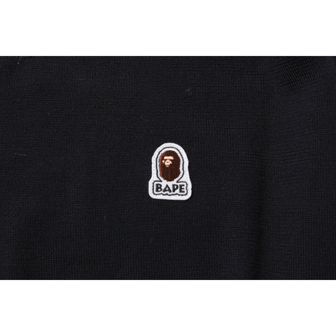 APE HEAD ONE POINT VNECK KNIT