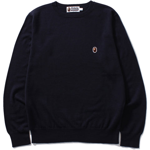 APE HEAD ONE POINT KNIT M
