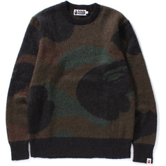 BAPE MOHAIR KNIT MENS