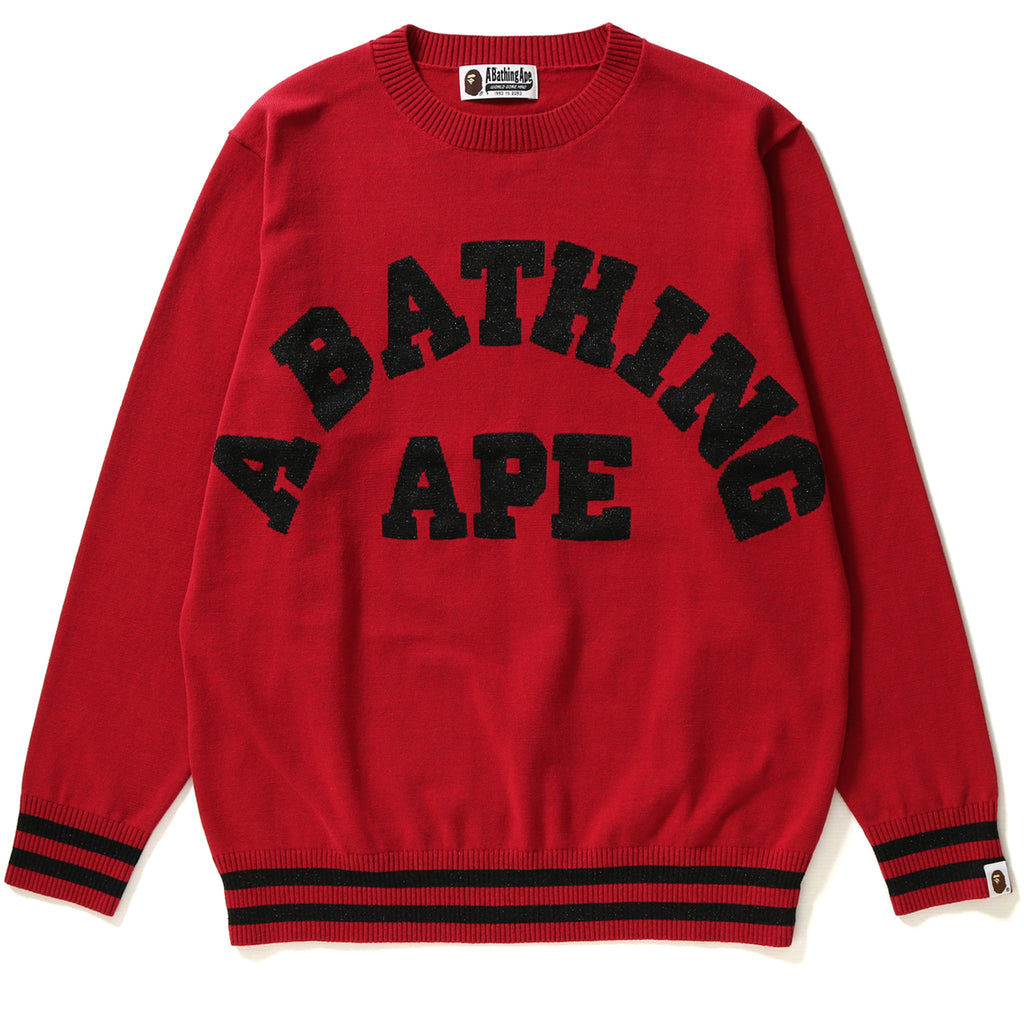 A BATHING APE KNIT LADIES