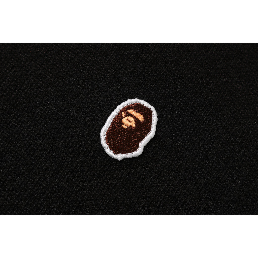 A BATHING APE WIDE KNIT MENS