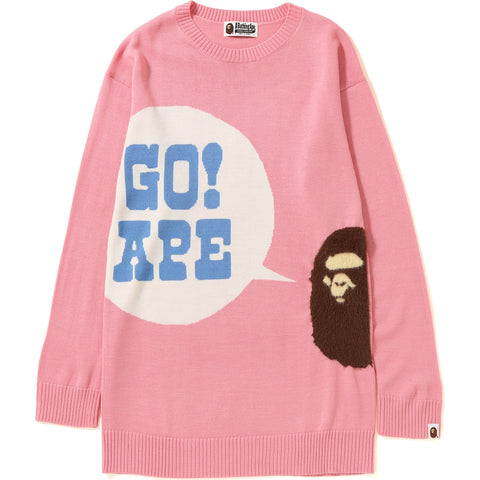GO APE LONG KNIT LADIES