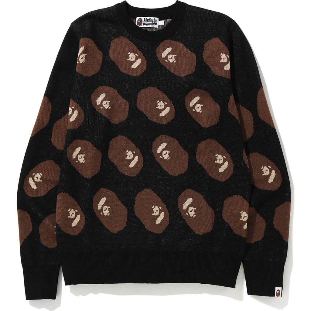 APE HEAD KNIT MENS