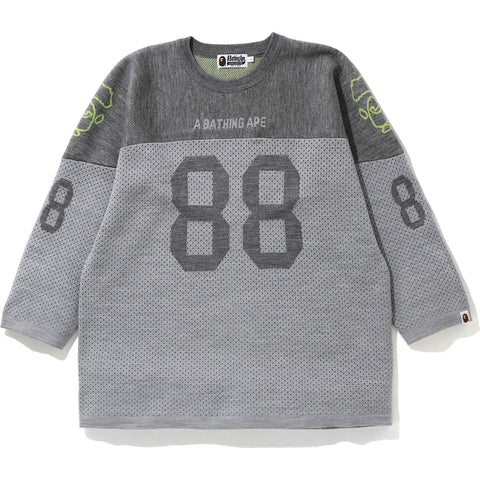 RELAXED FOOTBALL KNIT MENS