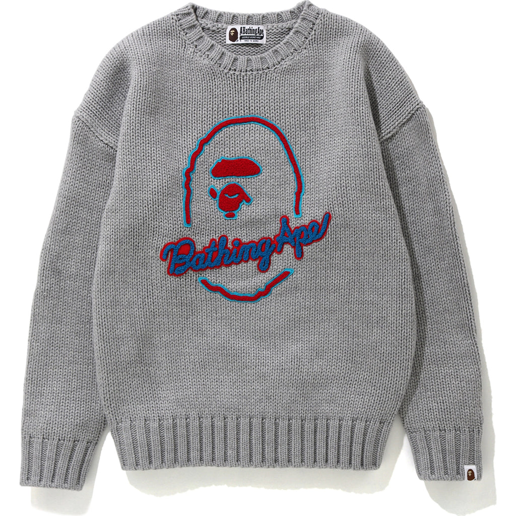 APE HEAD KNIT LADIES