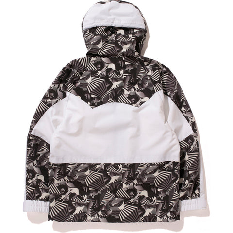 DAZZLE CAMO SNOW BOARD JACKET